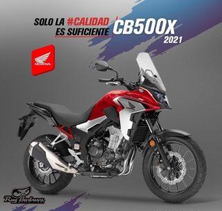 No te quedes sin tu CB500X año 2021, reserva la tuya ahora.